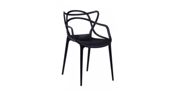 toby dining chair black