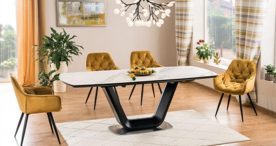 armani cerami dining table set